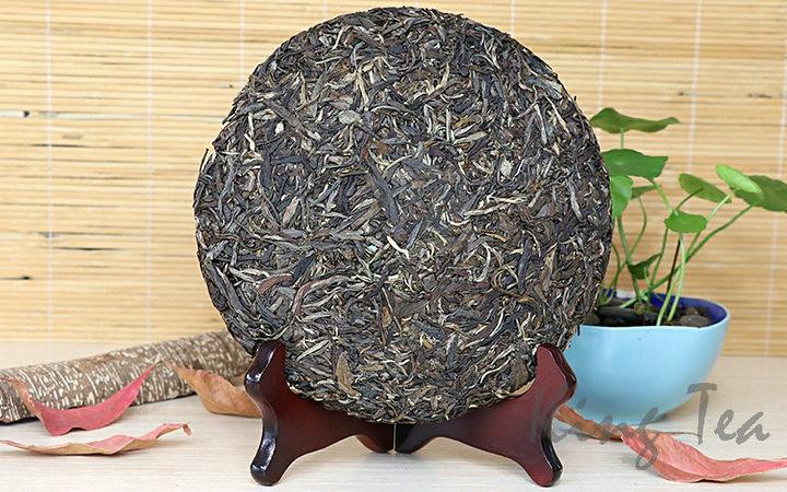 Free Shipping 2012 ChenShengYiHao Beeng Cake 400g China YunNan MengHai Chinese Organic Pu'er Pu'erh Puerh Raw Tea Sheng Cha