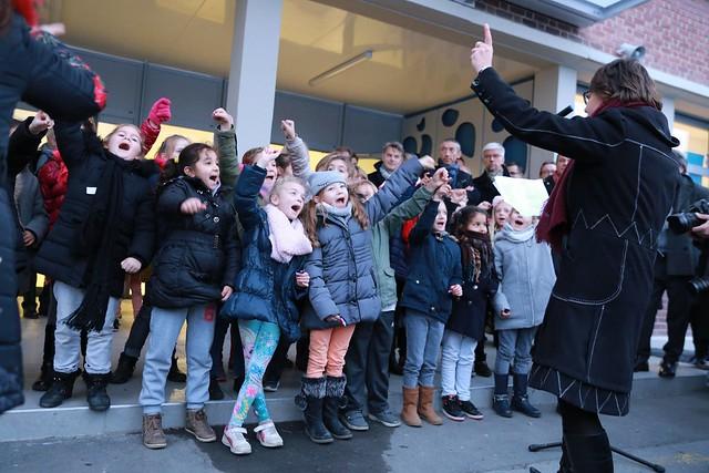 01.12.2017 - Inauguration de l'école Jean Jaurès