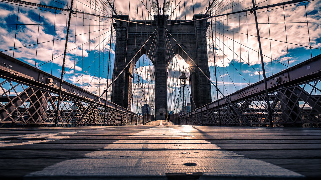The Brooklyn bridge - New York - Travel photography