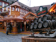 Christmas markets in Bayreuth in Germany