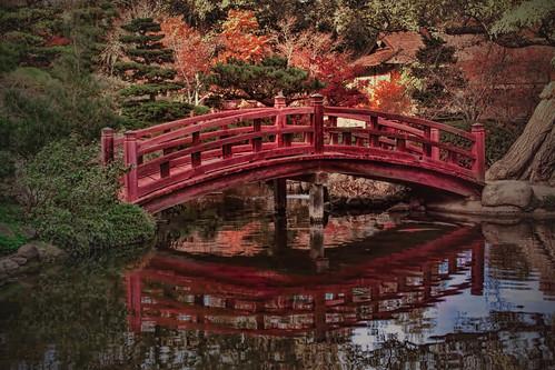 Beautiful Japanese bridge