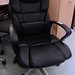 High back executive faux leather E150