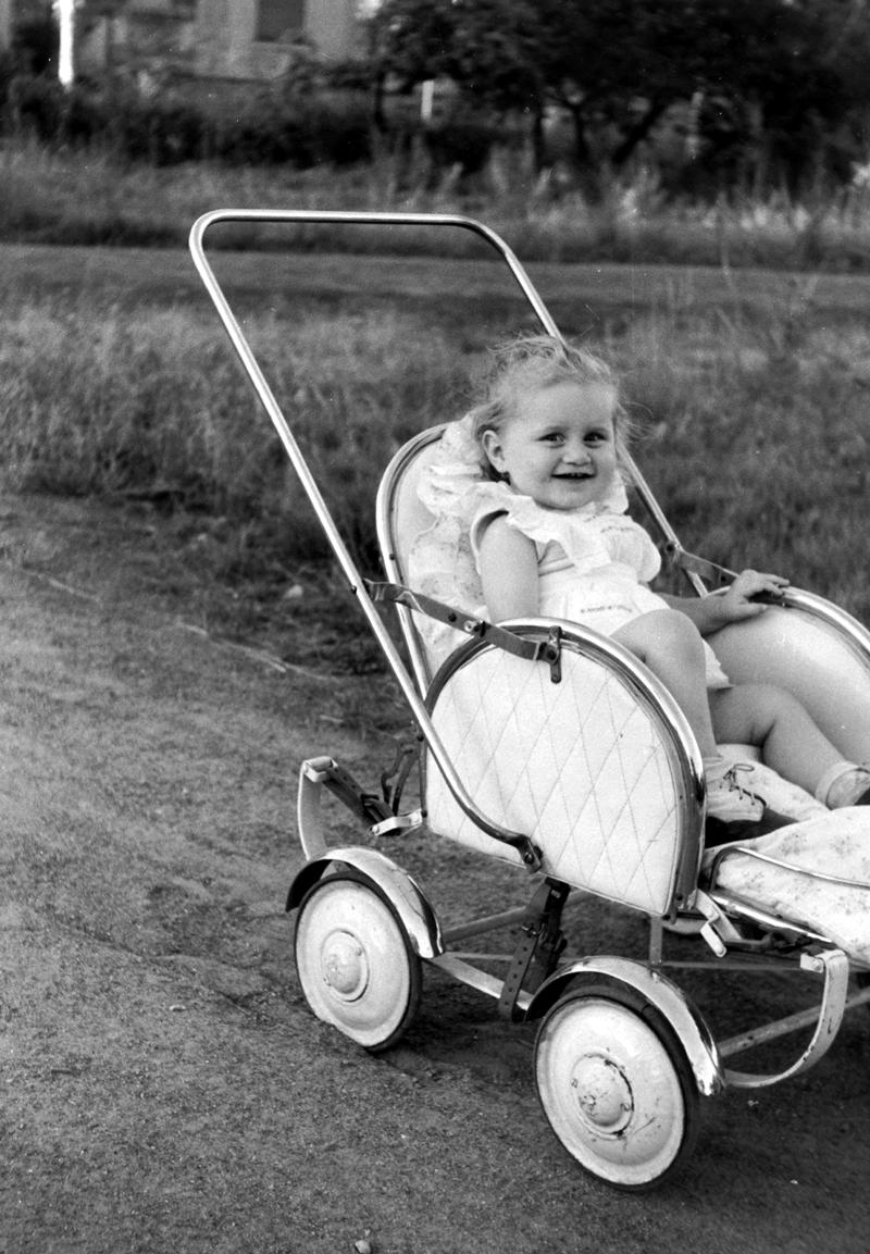 1953 Baby Carriage. Credit Fortepan