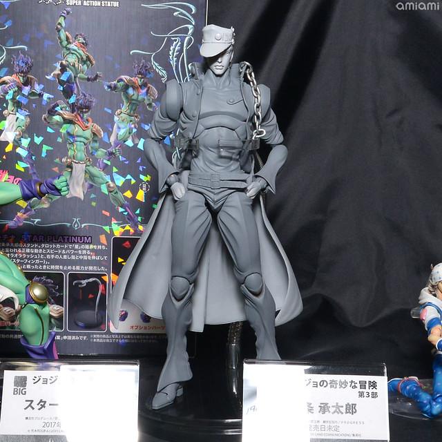 MEDICOS 宮沢模型展示會 「超像可動系列」新作搶先公開!超像可動BIG ジョジョの奇妙な冒険 第3部 『空条承太郎』