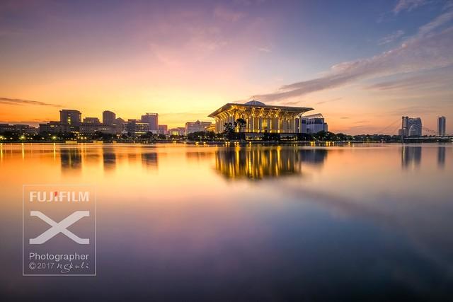 Morning light at Masjid Besi Putrajaya