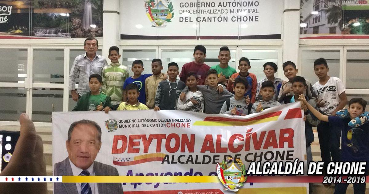 Escuela municipal de fútbol Sub 12 viajaron Sucumbíos