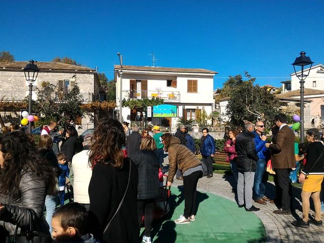 Inaugurazione parco giochi inclusivo a Scario