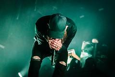 In Flames + support - Scandinavium, Gothenburg 16.11.17