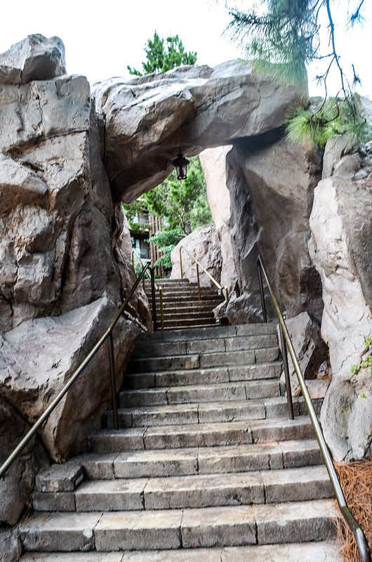 Rock stairs WL