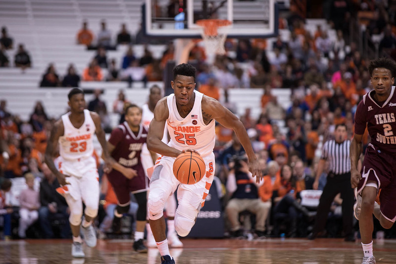 SU Basketball v Texas Southern