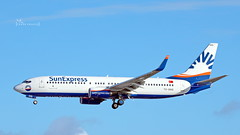 TC-SOG SunExpress Boeing 737-8HC(WL) cn 61179