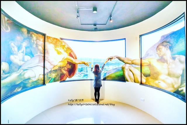 |宜蘭新景點 畫框博物館 11/17~11/30試營運 欣賞名畫/親子DIY/彩妝/闖關 一起走進藝術畫廊的奇妙旅程|