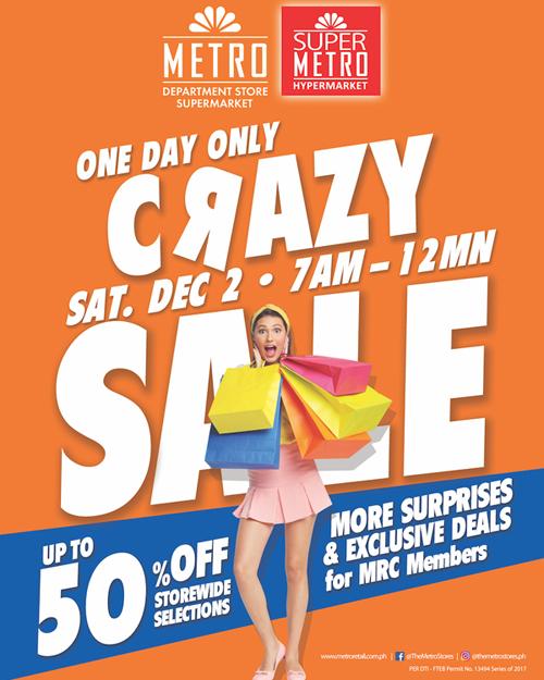 Metro Crazy Sale