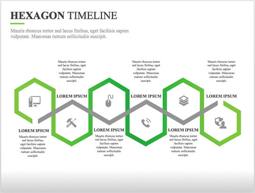 15 best timeline templates free editable custom designs hexagon timeline template pronofoot35fo Choice Image