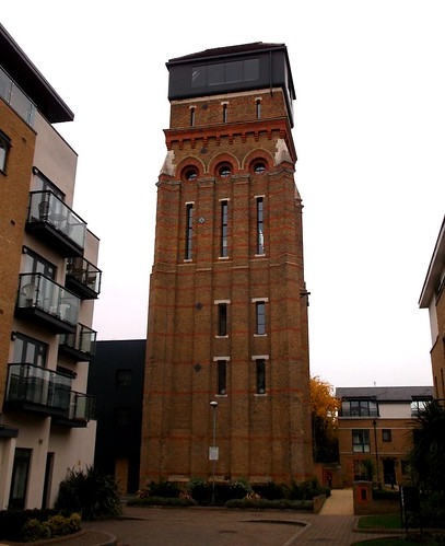 Lambeth workhouse water tower