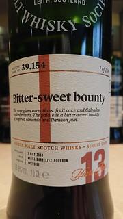 SMWS 39.154 - Bitter-sweet bounty