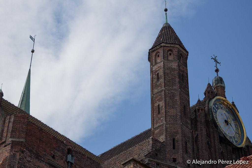 Reloj astronómico del Ayuntamiento de Gdansk