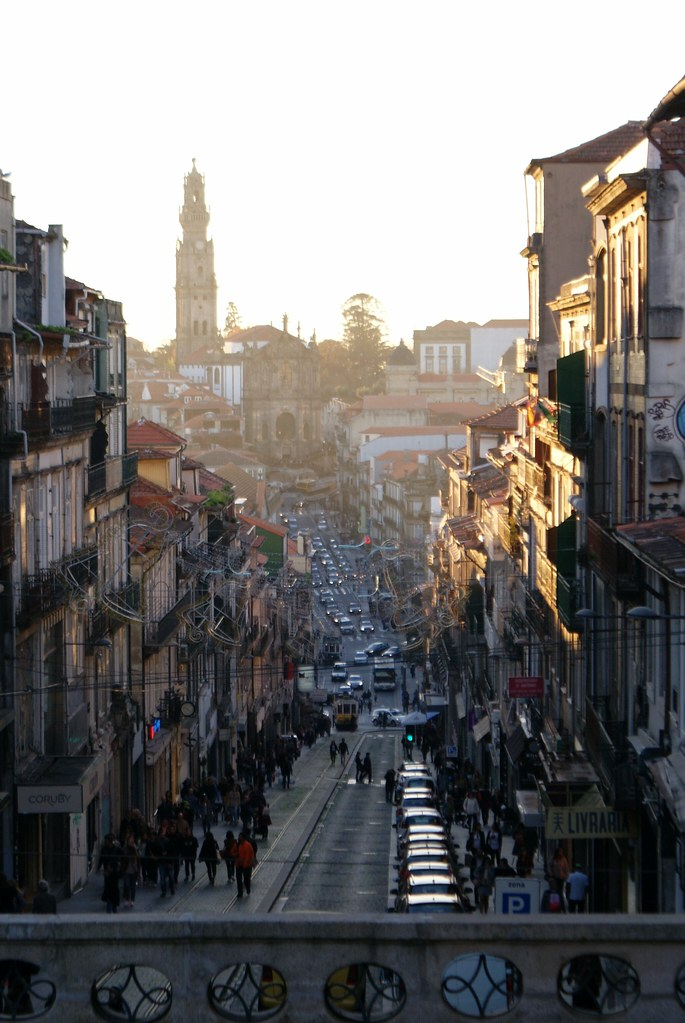 > Rua de 31 de Janeiro dans le quartier de Baixa à Porto