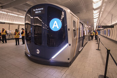Open House for R211 Subway Car Prototype