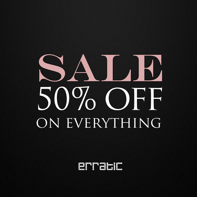 Erratic Sale