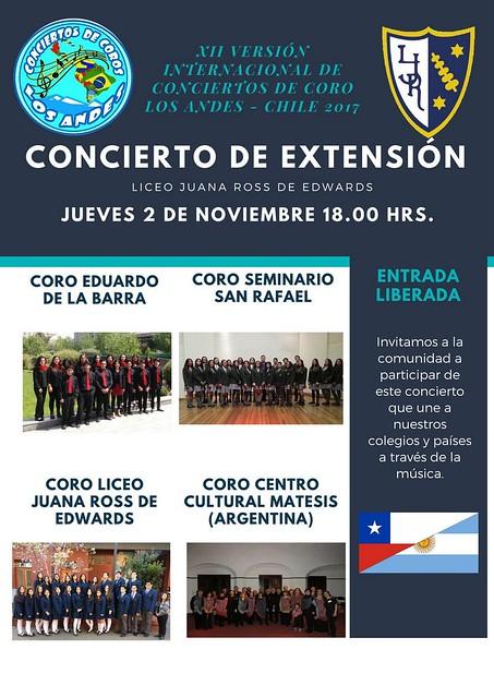 Concierto de Extensión 2018