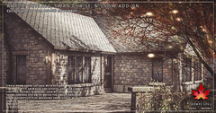 Trompe Loeil - Amelie Cottage, Swan Chaise, and Snow Add-On for Collabor88 November