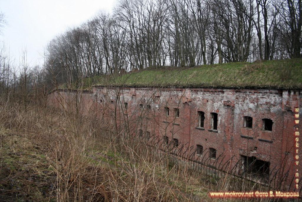 Форт №3 в Калининграде.