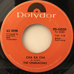 THE CHAKACHAS:JUNGLE FEVER(LABEL SIDE-B)