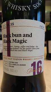 SMWS 11.35 - Black bun and Black Magic