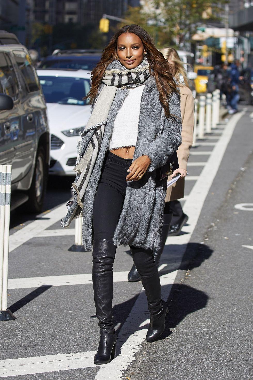 как одеваться стильно зимой