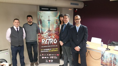 NEW & RETRO Valladolid GAME FESTIVAL 2017. Rueda de prensa