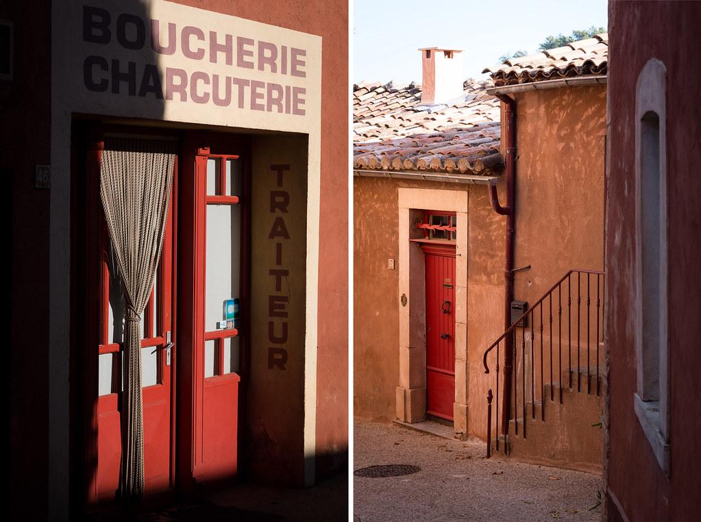 Rues de Roussillon