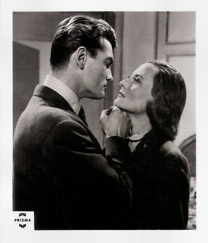 Michèle Morgan and Jean Marais in Aux yeux du souvenir (1948)
