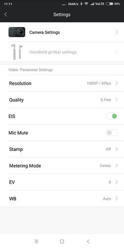 Xiaomi mijia action carmera mini 4K WIFI ペアリング設定方法 (10)
