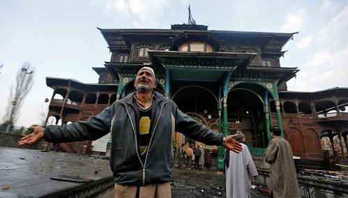 Fire at Shah-E-Hamdan's Shrine in Srinagar