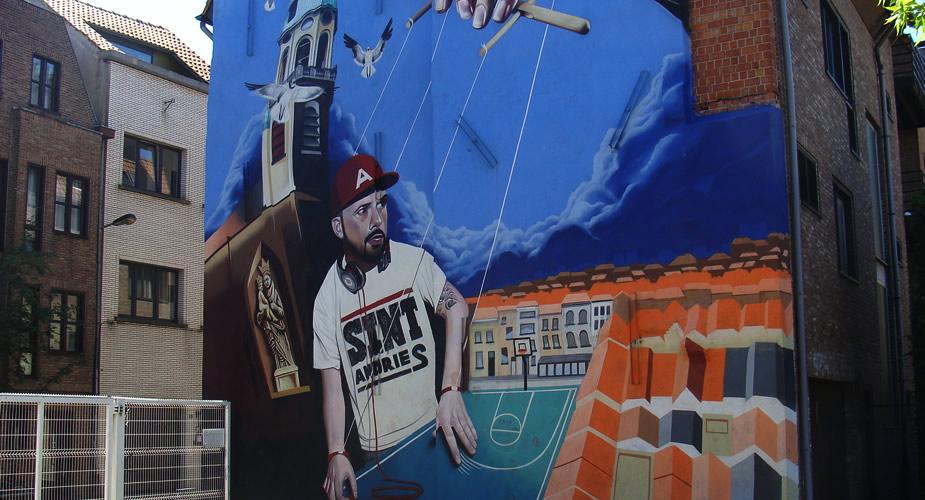 Street art in Antwerpen: ontdek Sint Andries | Mooistestedentrips.nl