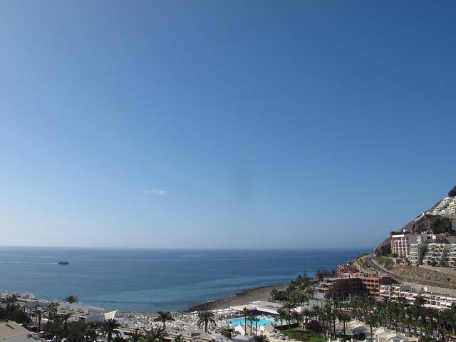 friday, the view, playa del cura, gran canaria