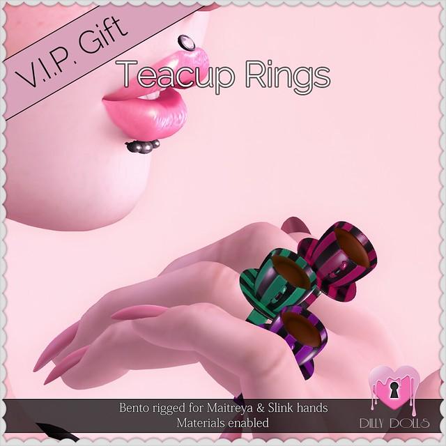 Teacup Rings VIP Gift