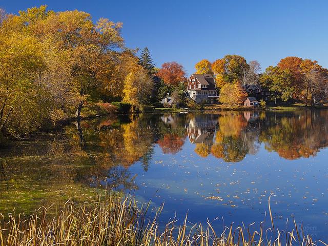 A Massachusetts Autumn Idyll