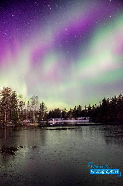 Northern Lights at home