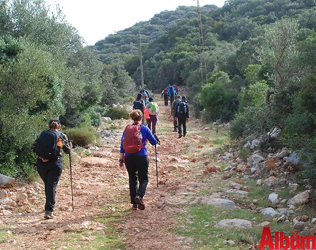 Baba Dağ Yürüyüş Gurubu Lişkya Yolu Kültür Turu