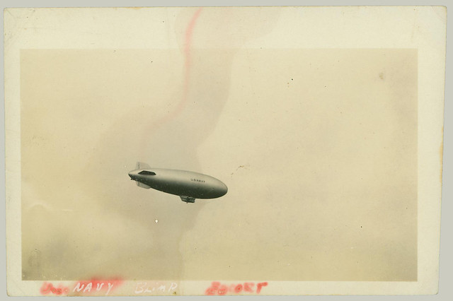 Navy Blimp Escort
