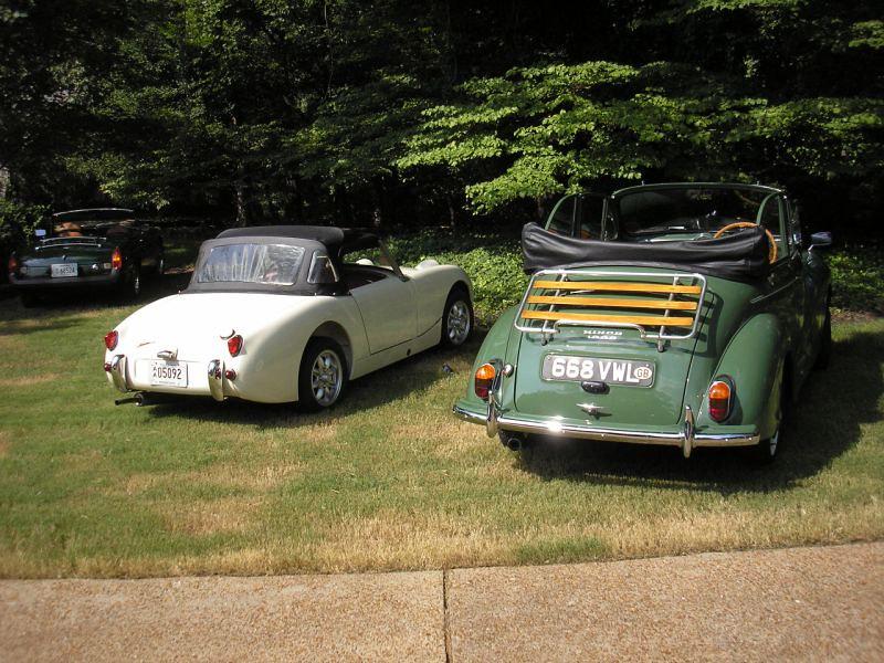 8/10 MINI Marque BBQ, Rallye & Garage Crawl