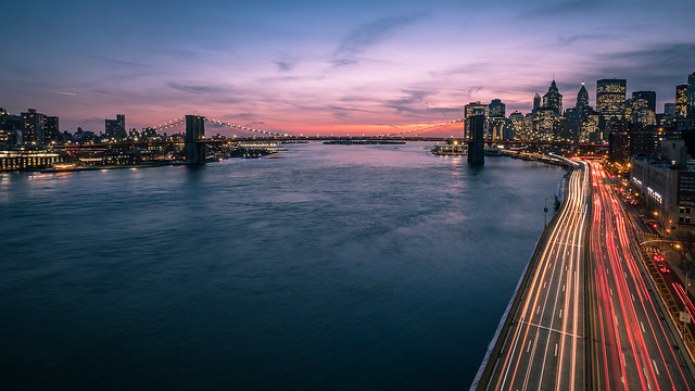 Sunset in Manhattan - New York - Cityscape photography