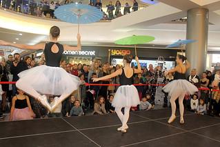 Exhibición de ballet de la Escuela de Danza Pilar Sánchez