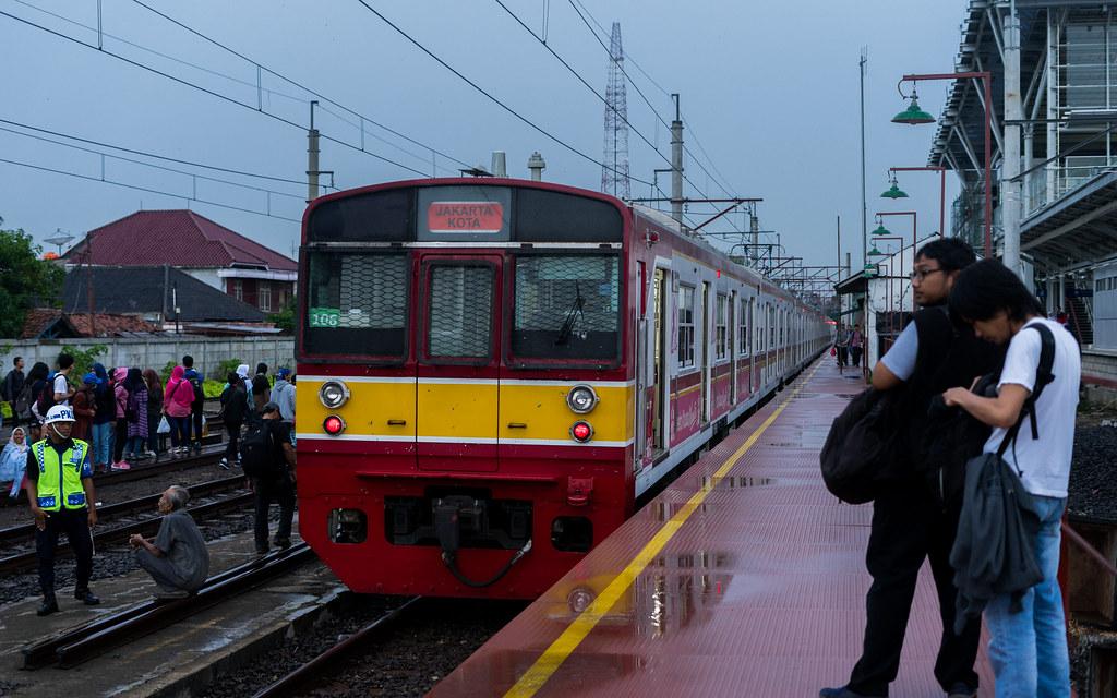 JR203;Blue Line;Stasiun Cikarang