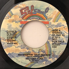 INSTANT FUNK:NO STOPPIN' THAT ROCKIN'(LABEL SIDE-A)