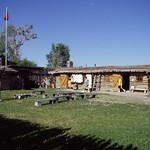 EJ-AML LC BDL at trading post at Fort Bridger Wyoming 8-01