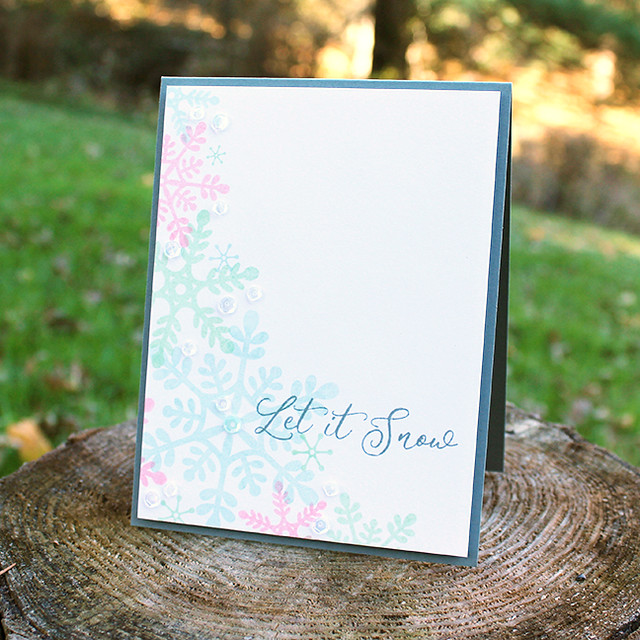 Let It Snow Card
