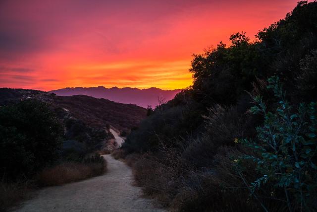 Eagle Rock Trail - Topanga State Park - Los Angeles, California